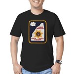 Rankin County Sheriff Men's Fitted T-Shirt (dark)