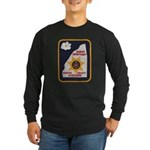 Rankin County Sheriff Long Sleeve Dark T-Shirt