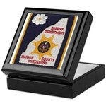 Rankin County Sheriff Keepsake Box