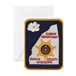 Rankin County Sheriff Greeting Card