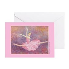 Sugar Plum Fairy/Dance Quote Greeting Card