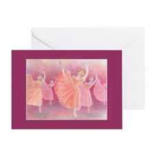 Waltz of the Flowers/Dance Quote Greeting Card