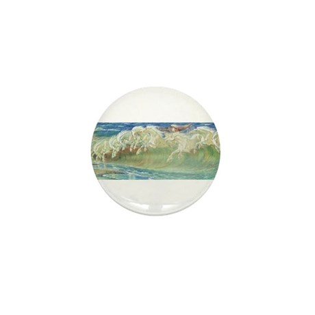 NEPTUNE'S HORSES Mini Button (10 pack)