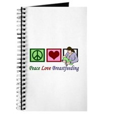 Peace Love Breastfeeding Journal