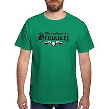 My Husband Is A Drummer T-Shirt