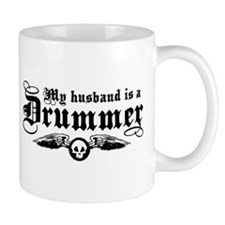 My Husband Is A Drummer Mug