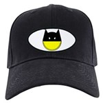 Bat Smiley Black Cap
