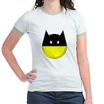 Bat Smiley Jr. Ringer T-Shirt
