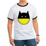 Bat Smiley Ringer T