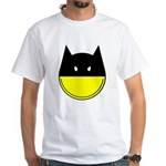 Bat Smiley White T-Shirt