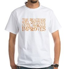 The Beatings Will Continue Un Shirt