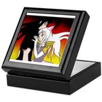 Luke and Zeldah - flames Keepsake Box