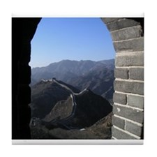 Great Wall of China Tile Coaster