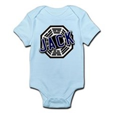 Jack Dharma Logo from LOST Infant Bodysuit