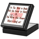 Nursing Student XX Keepsake Box
