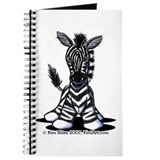 KiniArt Zebra Journal
