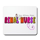 Renal Nephrology Nurse Mousepad