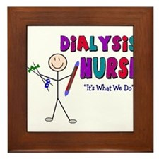 Renal Nephrology Nurse Framed Tile