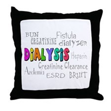 Renal Nephrology Nurse Throw Pillow