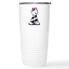 Lighthouse Westie Ceramic Travel Mug