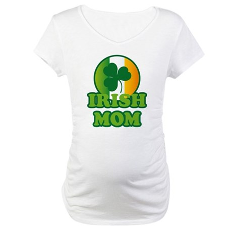 Irish Mom Maternity Tee Shirt