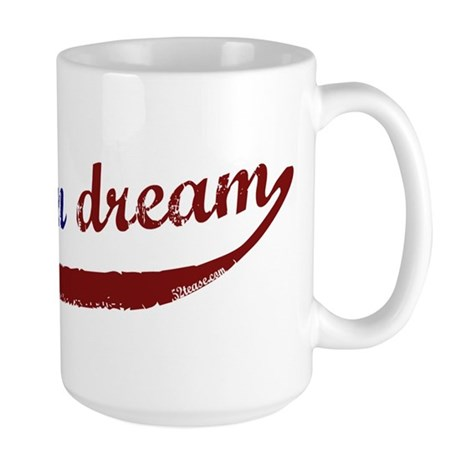(I am) The American Dream Large Mug