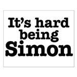 It's hard being Simon Small Poster