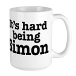It's hard being Simon Large Mug