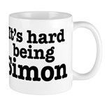 It's hard being Simon Mug