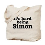 It's hard being Simon Tote Bag