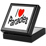 I Love Parades Keepsake Box