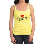 I Love Parades Jr. Spaghetti Tank