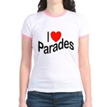 I Love Parades Jr. Ringer T-Shirt