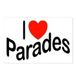 I Love Parades Postcards (Package of 8)