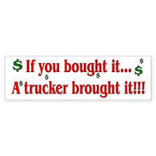 Truck 'n' Pride Bumper Bumper Sticker