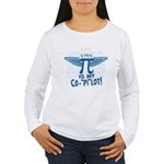 Pi is my Copilot Women's Long Sleeve T-Shirt
