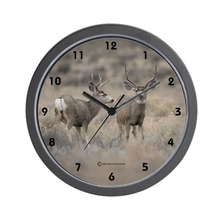 """Bucks"" Wall Clock"