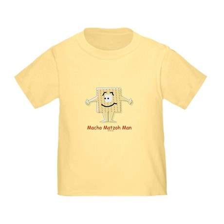 Macho Matzoh Man Passover Toddler T-Shirt