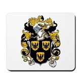 Hobbs Coat of Arms Mousepad