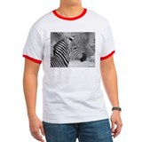 Zebra In Black and White T