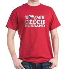 I Love My Czech Husband T-Shirt