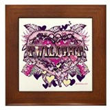 Twilight Old World Heart Framed Tile