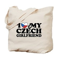 I Love My Czech Girlfriend Tote Bag