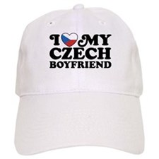 I Love My Czech Boyfriend Baseball Cap