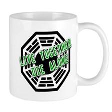 Live Together, Die Alone LOST Mug