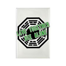 Live Together, Die Alone LOST Rectangle Magnet