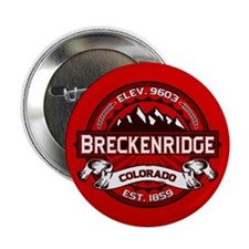 "Breckenridge Red 2.25"" Button"
