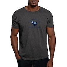 Hilton Head Island - Map Design T-Shirt