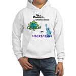 I'm a Moderate Hooded Sweatshirt