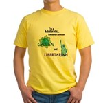 I'm a Moderate Yellow T-Shirt